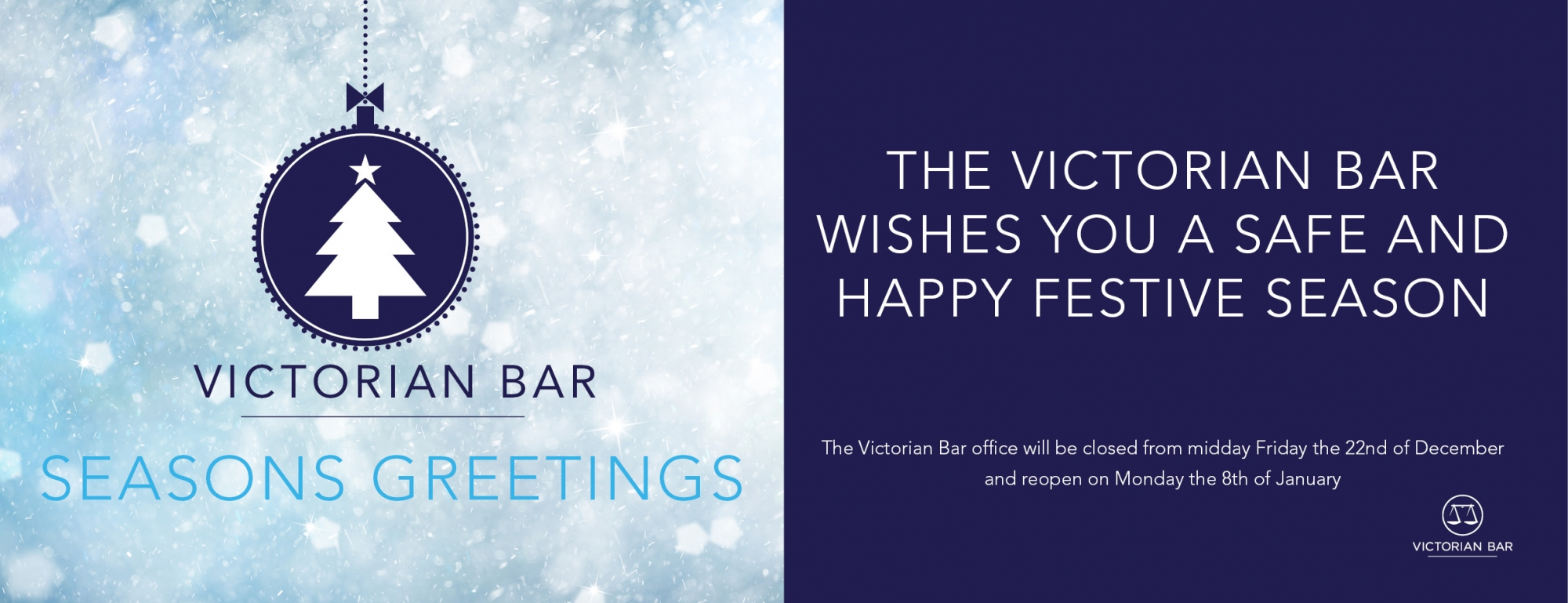 Seasons Greetings 2017 Victorian Bar
